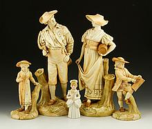 Collection of 5 Royal Worcester Figures