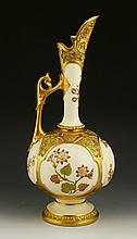 Royal Worcester Blush Ivory Ewer