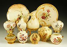 Collection of 11 Pieces of Royal Worcester Blush Ivory