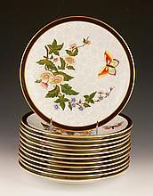 Set of 12 Royal Worcester Plates