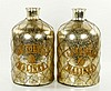 Pair French Perfume Bottles