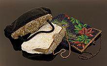 3 Vintage Beaded Bags
