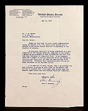 Signed Kennedy Letter