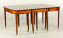 c. 1800 Hepplewhite Mahogany Dining Table