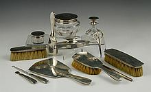 American Arts and Crafts Sterling Boudoir Set