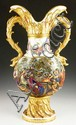 Monumental 19th C. Herend Porcelain Vase