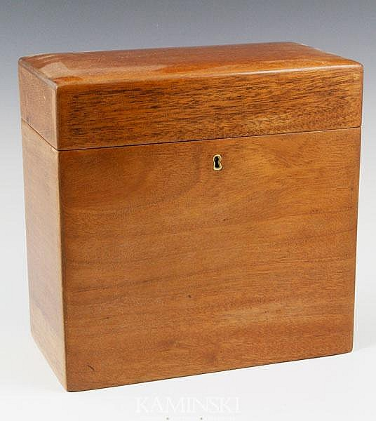 Unusual 19th C. English Humidor