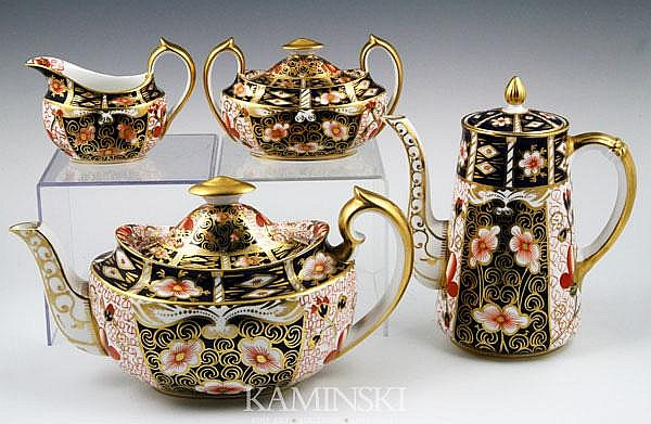 English Royal Crown Derby Tea Set