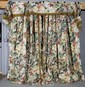 3 Panels of Floral Drapes