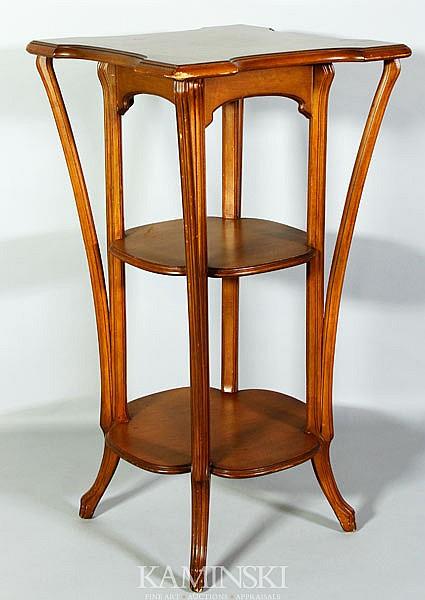 Art Nouveau Style Pedestal