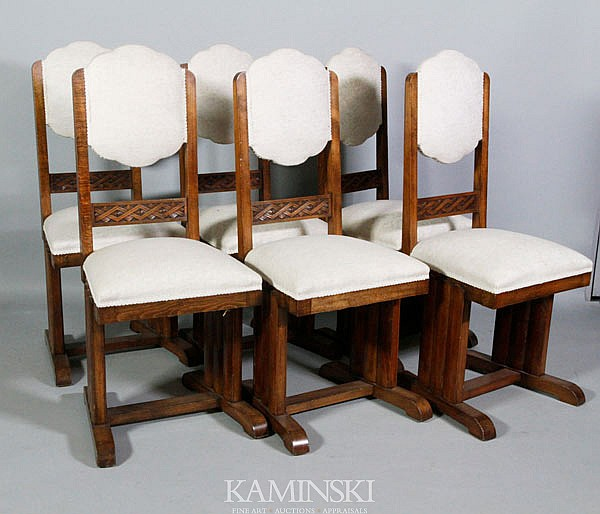 6 Early 20th C. Side Chairs