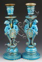19th C. French Sevres Candlesticks