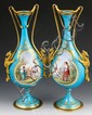 19th C. Pair French Sevres Urns