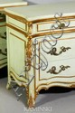Pair Commodes with Gilt