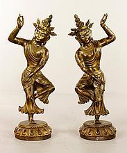 Pr. 19th C. Chinese Bronze Figures