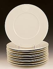 11 19th/20th C. KPM Plates
