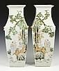 Chinese Pair of Republic Period Vases