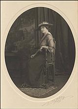 PRINCESS MARIE BONAPARTE, c.1907. Portrait photograph SIGNED