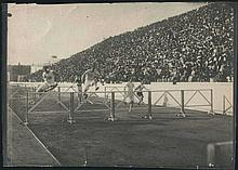OLYMPIC GAMES Athens Summer 1906. Sprint Hurdle Race
