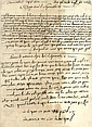 Manuscript, Prayers for Times of War and for the Success of Caesar Franz the First - Italy