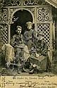 Herzl's Study / Herzl's Children - Two Postcards