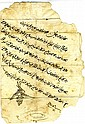 Two Historic Documents - Letters sent to the Governor of Safed, 1840-1841