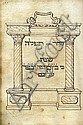 Manuscript: Rome Version Machzor for Yom Kippur- Italy, 1608 - Lattes Family Inscriptions