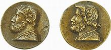 Moses - Two Medals, 17th Century