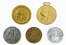 Six Anti-Semitic Medals - Germany and England, 1920s-30s