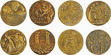 Four Satiric Medals Concerning the Socialist Revolution in Bavaria
