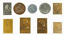 Collection of Medals and Plaques - Jewish Figures