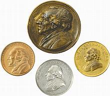 Four Medals - Moses Mendelssohn