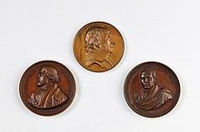 Three Medals of Jewish Themes - Belgium