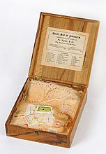 Relief Map of the Old City of Jerusalem - Topographic Model in a Wooden Box - American Colony