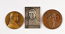 Medals and a Plaque - Jewish Physicians
