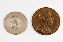 Two Medals - Richard Willstätter / Paul Ehrlich - Nobel Prize Winners
