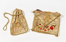 Talit Bag and Tefillin Pouch - Hungary, 1910