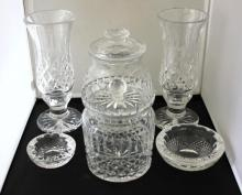 Assorted Contemporary Waterford Cut Crystal Items