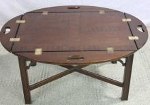 Mahogany George III Tray Top Coffee Table