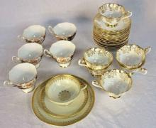 Assortment of English and German China