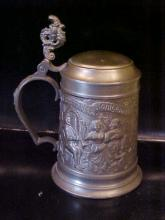 German pewter stein