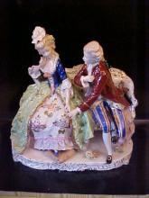Dresden group figurine