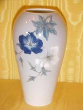 Royal Copenhagen vase with floral decoration
