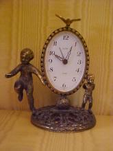 Brass case Victorian clock