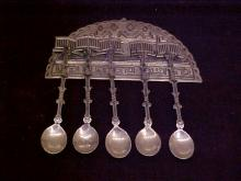 800 Silver miniature spoons