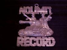 No Limit Record tank pendant