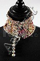 A Christian Lacroix couture gem encrusted collar,