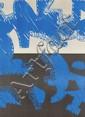 ACCARDI, CARLA Blu. Colour lithograph 15 / 99.