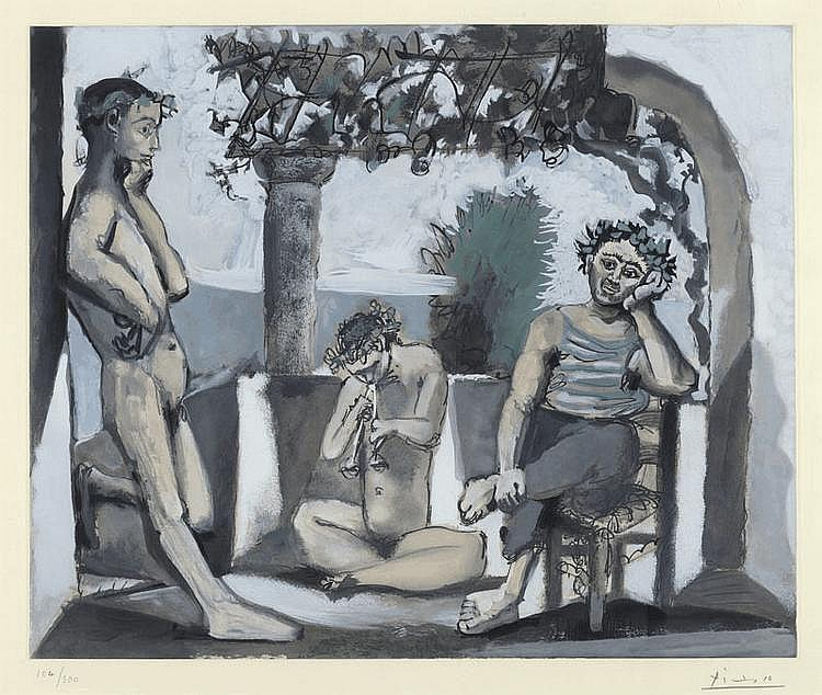 After PICASSO, PABLO (Málaga 1881 - 1973 Mougins)