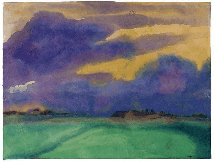 NOLDE, EMIL (Nolde 1867 - 1956 Seebüll) Marsh